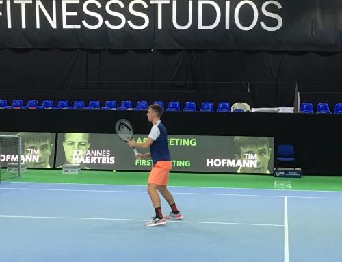 Tim Hofmann beim 22. ATP Challenger Eckental